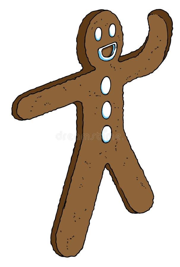 Hombre de la galleta libre illustration