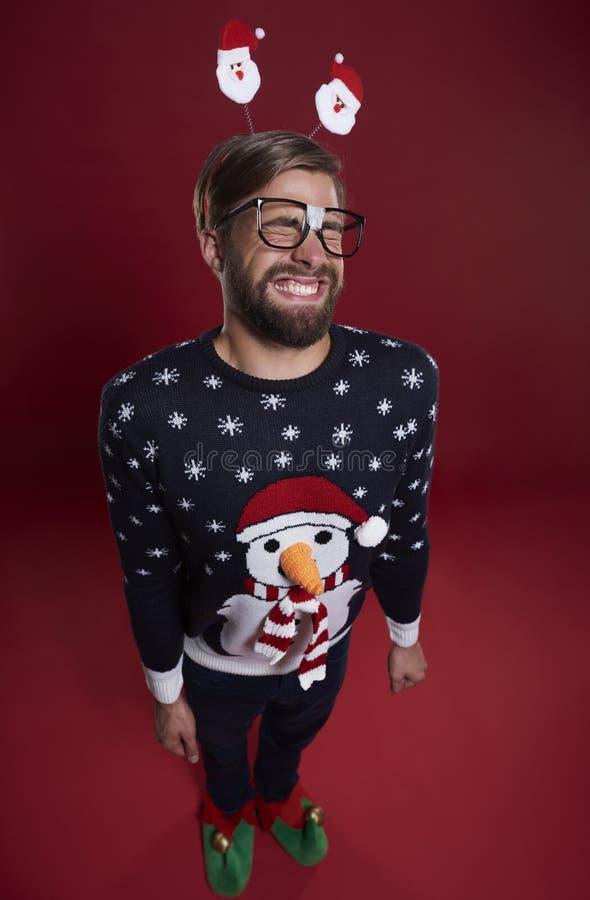 Hombre de la Navidad fotos de archivo libres de regalías