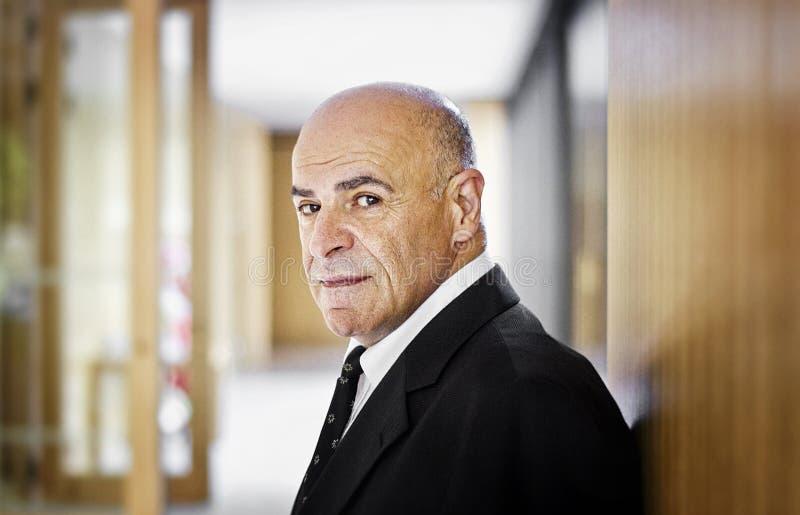 Hombre de negocios árabe en Alemania foto de archivo
