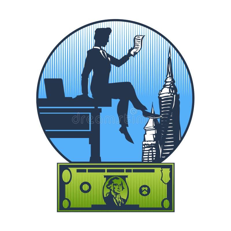 Hombre de negocios ilustración del vector