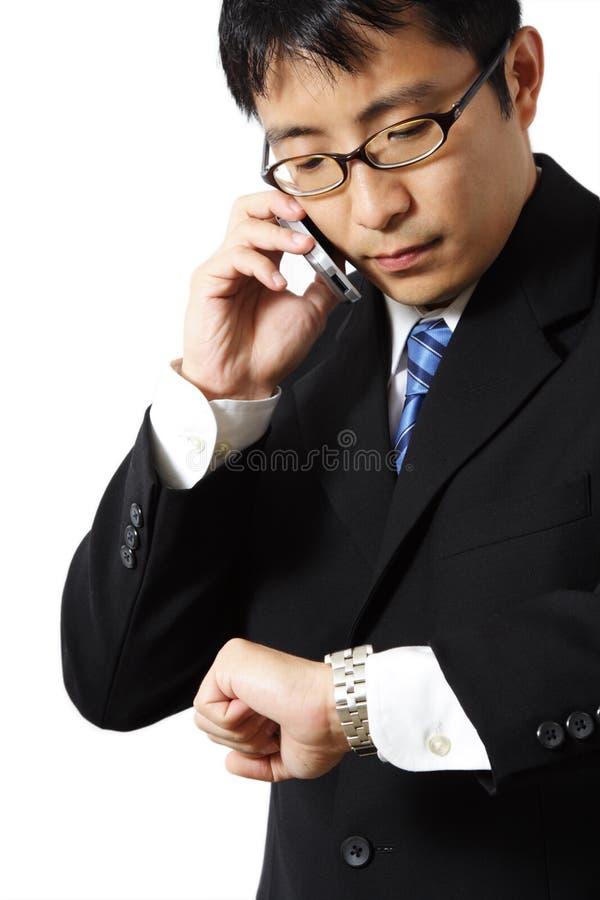 Download Hombre de negocios imagen de archivo. Imagen de cellphone - 1275241