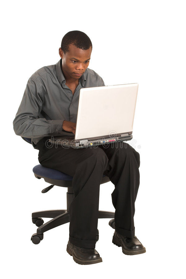 Hombre de negocios #158 imagen de archivo libre de regalías