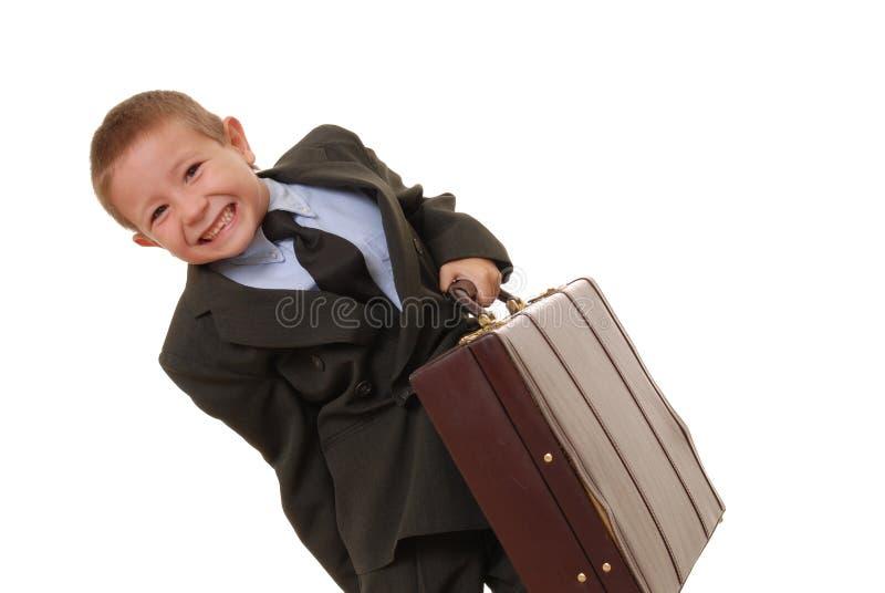 Hombre de negocios 2 del muchacho imagenes de archivo