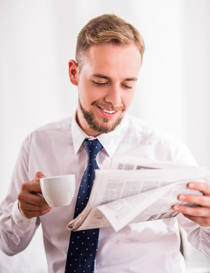 Hombre de negocios fotografía de archivo libre de regalías