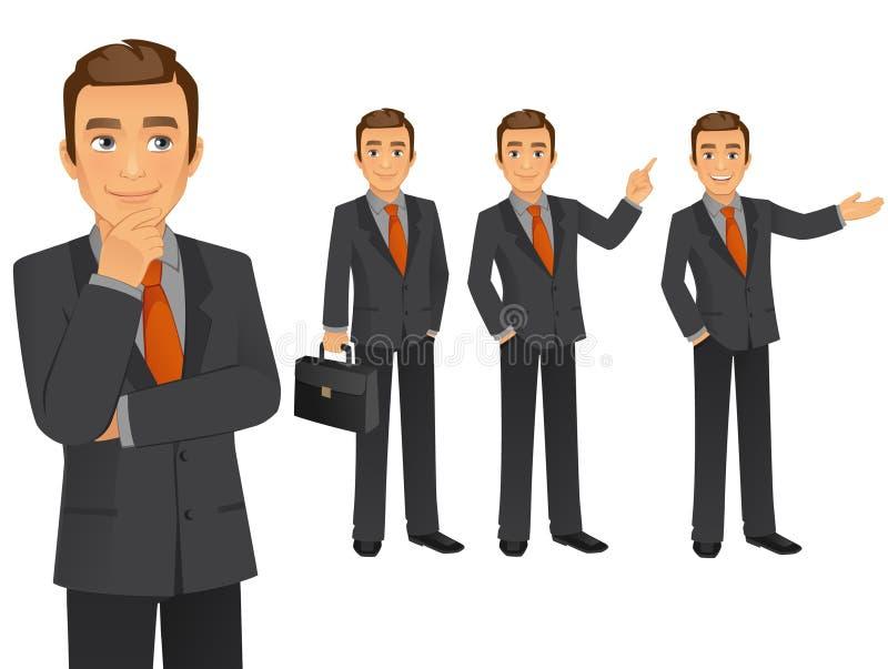 Hombre de negocios stock de ilustración