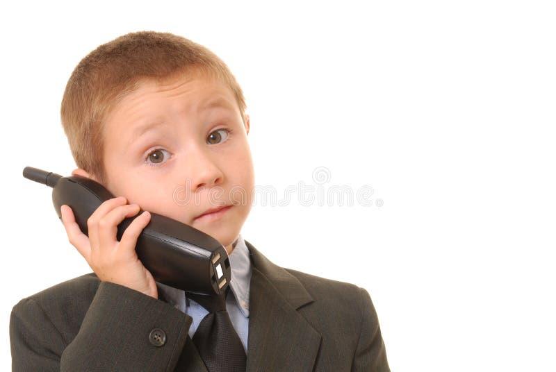 Hombre de negocios 7 del muchacho foto de archivo