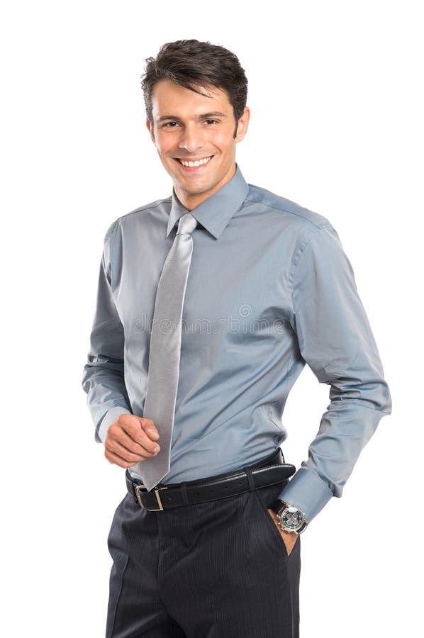 Hombre de negocios acertado feliz fotos de archivo libres de regalías