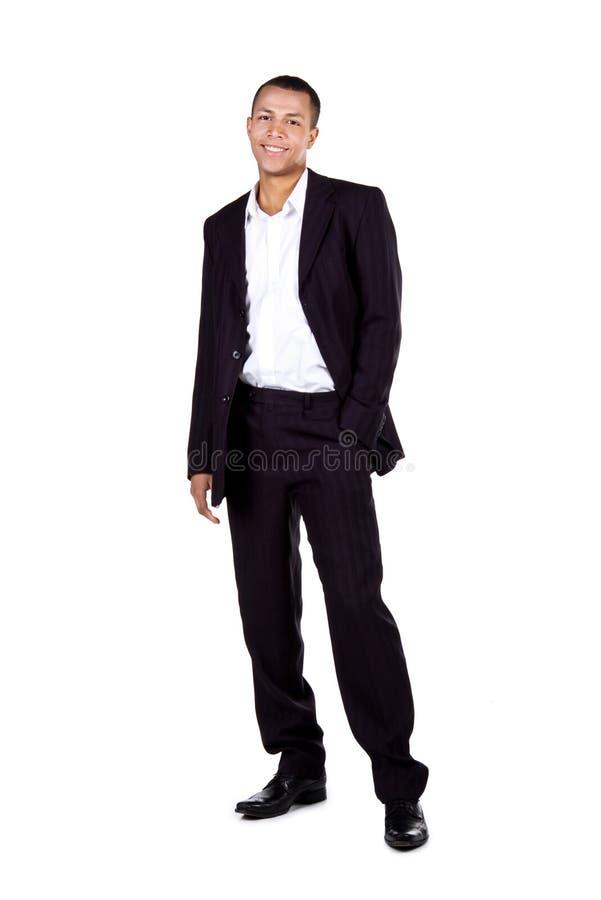 Hombre de negocios acertado joven imagenes de archivo