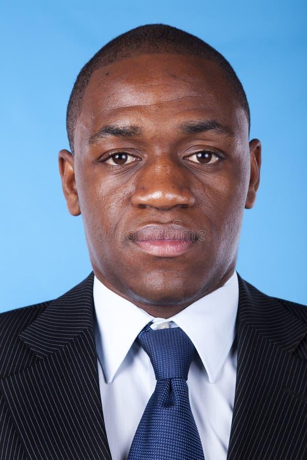 Hombre de negocios africano fotos de archivo libres de regalías