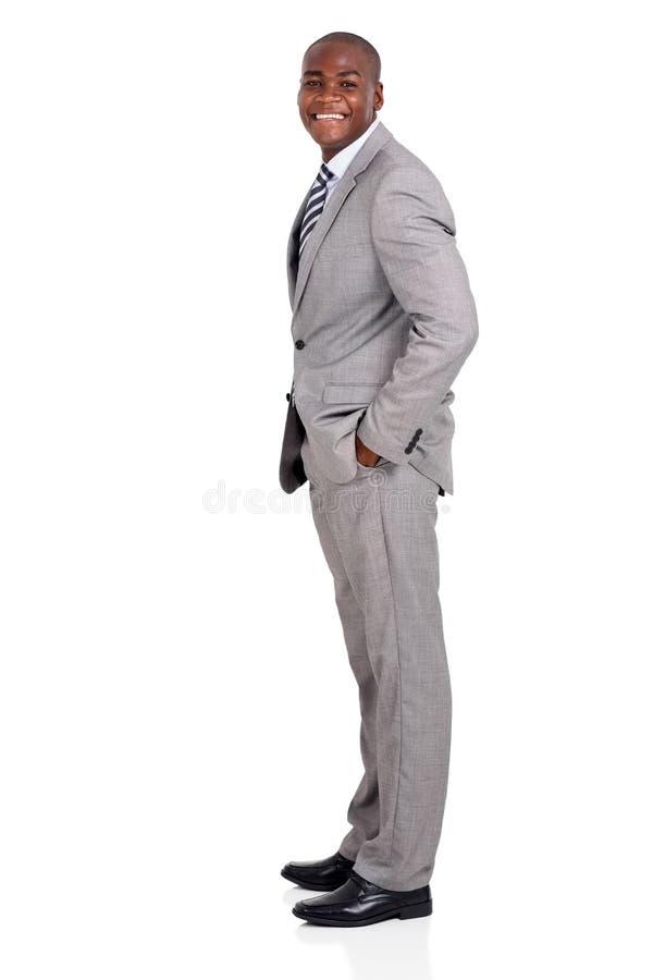 Hombre de negocios afroamericano imagen de archivo