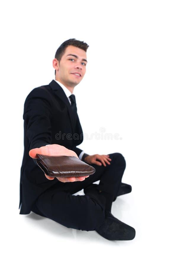 Hombre de negocios aislado fotos de archivo libres de regalías