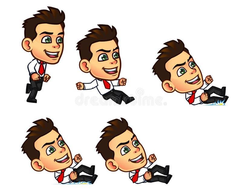 Hombre de negocios Animation Sprite libre illustration