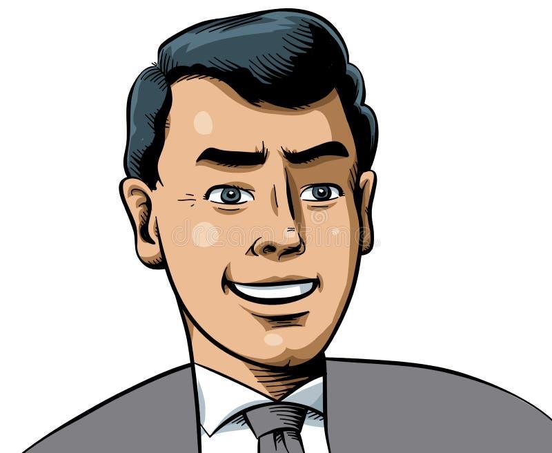 Hombre de negocios apuesto libre illustration
