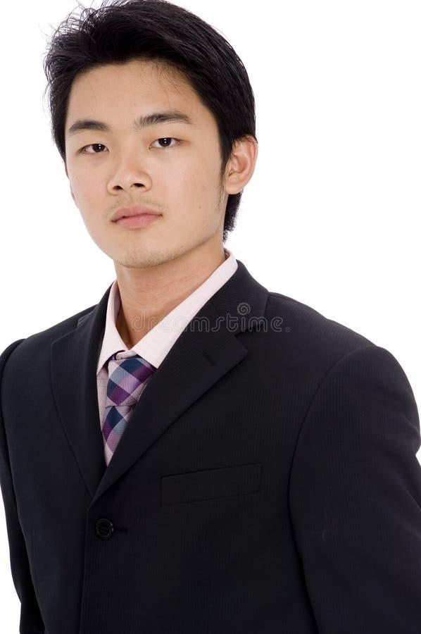 Hombre de negocios asiático imagenes de archivo