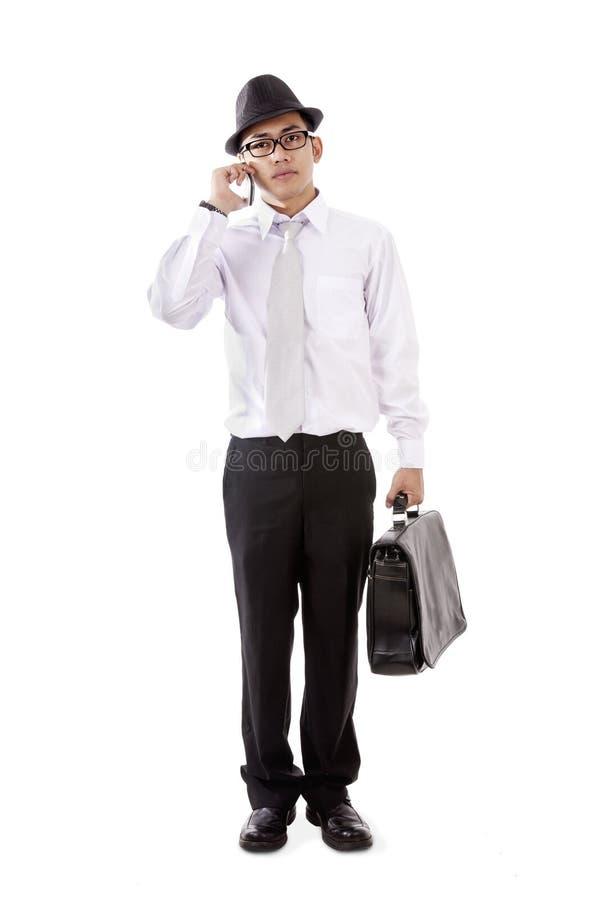 Hombre de negocios asiático joven foto de archivo libre de regalías