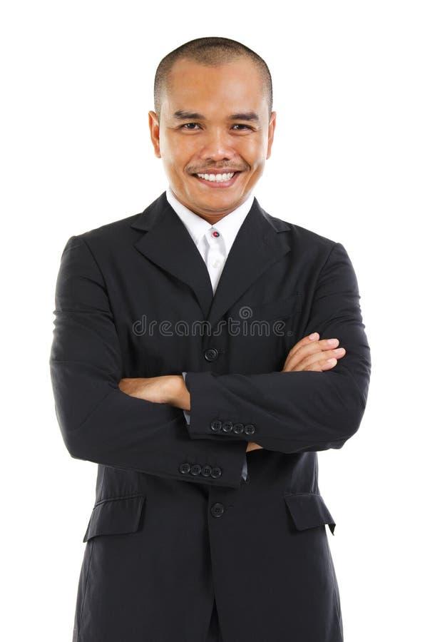 Hombre de negocios asiático suroriental foto de archivo libre de regalías