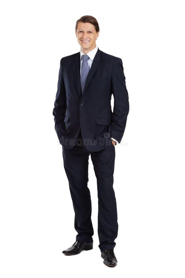 Hombre de negocios atractivo joven fotos de archivo
