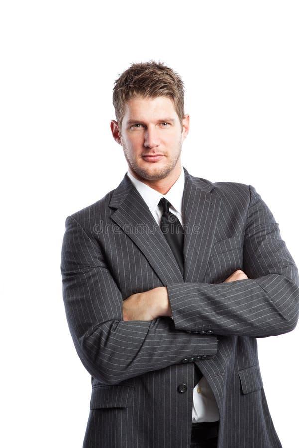 Hombre de negocios caucásico fotografía de archivo libre de regalías