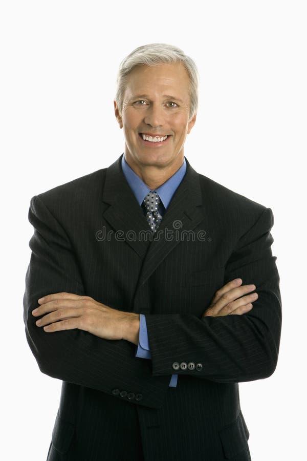 Hombre de negocios caucásico. foto de archivo