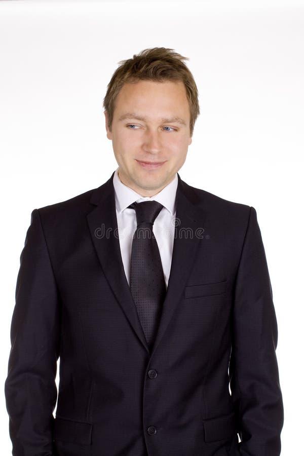 Hombre de negocios clásico foto de archivo