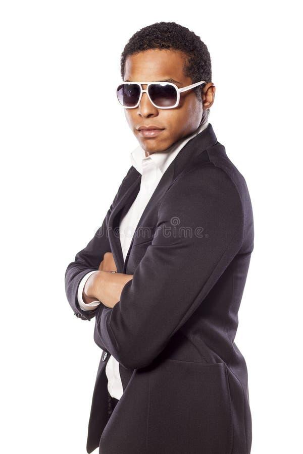 Hombre de negocios con las gafas de sol imagen de archivo libre de regalías