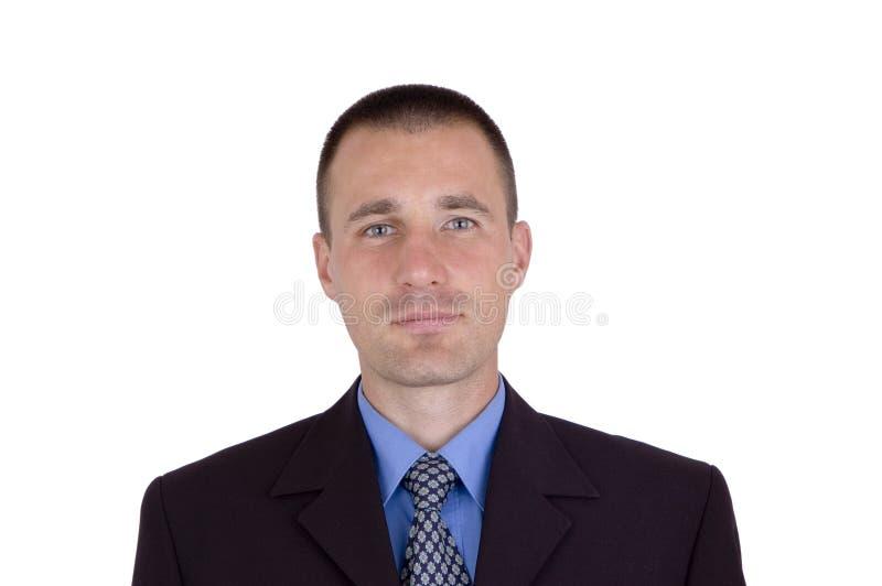 Hombre de negocios con una sonrisa imagen de archivo libre de regalías