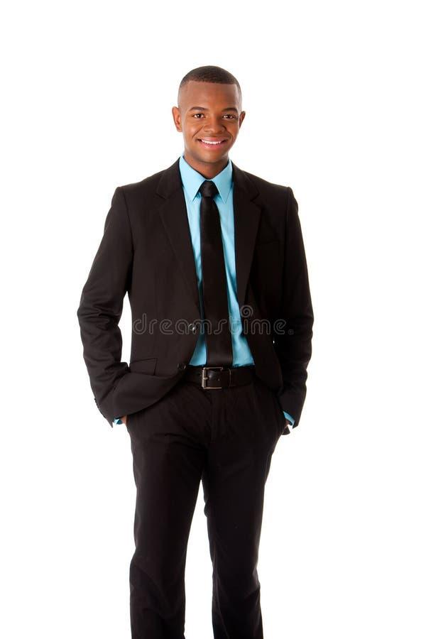 Hombre de negocios corporativos ejecutivo feliz foto de archivo libre de regalías