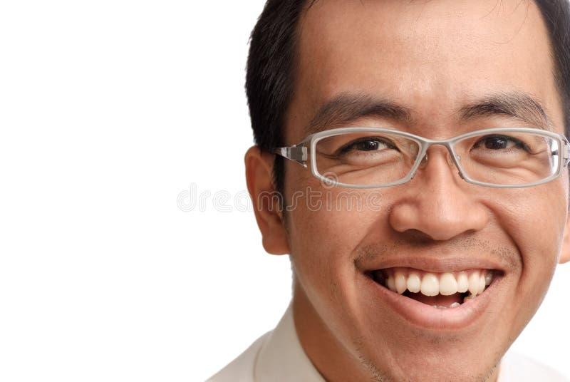 Hombre de negocios de la sonrisa fotos de archivo libres de regalías