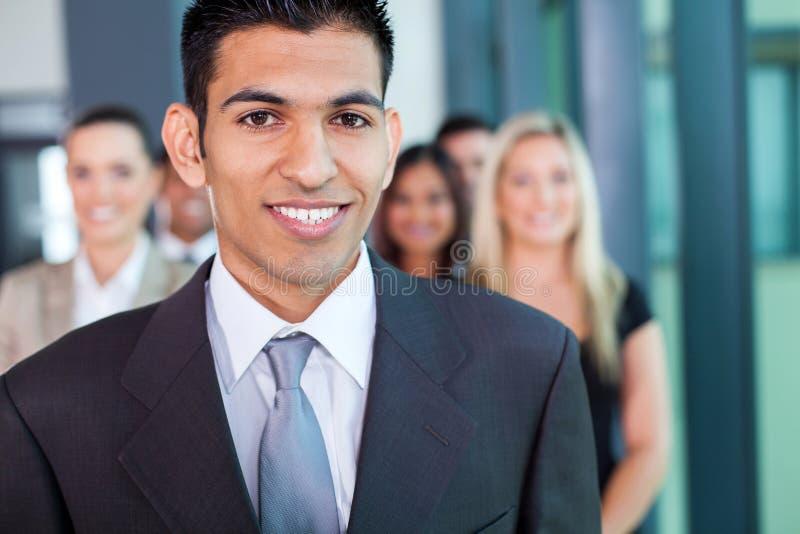 Hombre de negocios de Oriente Medio imagenes de archivo