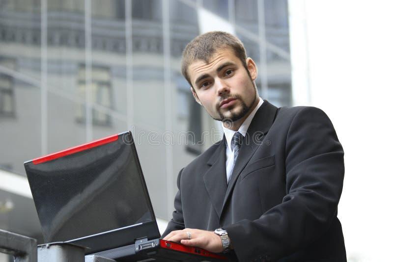 Hombre de negocios de trabajo fotos de archivo