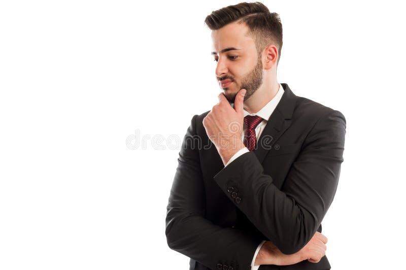 Hombre de negocios decepcionante fotos de archivo