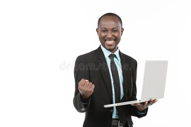Hombre de negocios del éxito imagen de archivo libre de regalías
