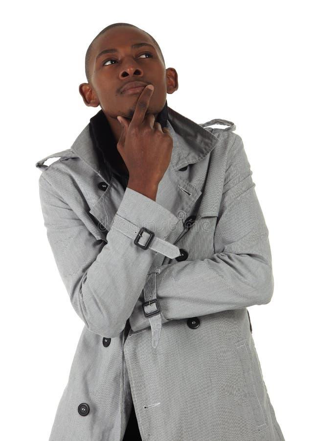 Hombre de negocios del africano negro foto de archivo libre de regalías
