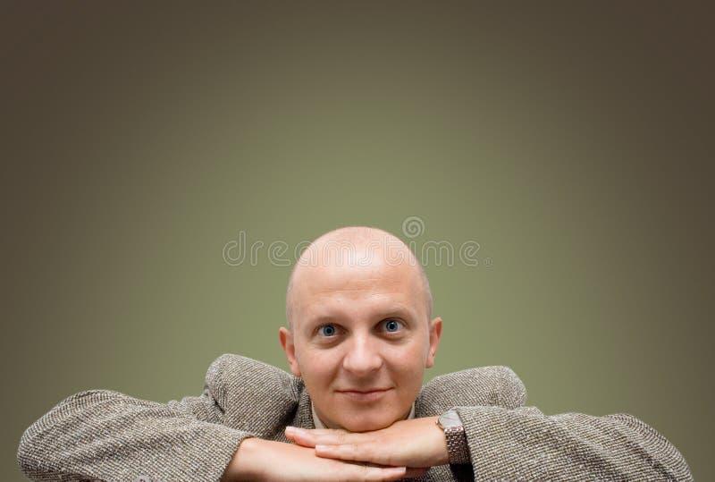 Hombre de negocios del gurú fotos de archivo