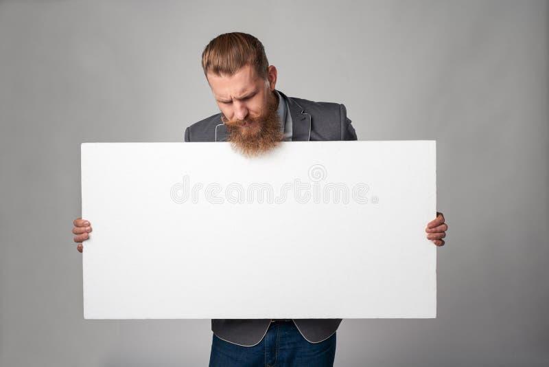 Hombre de negocios del inconformista fotos de archivo