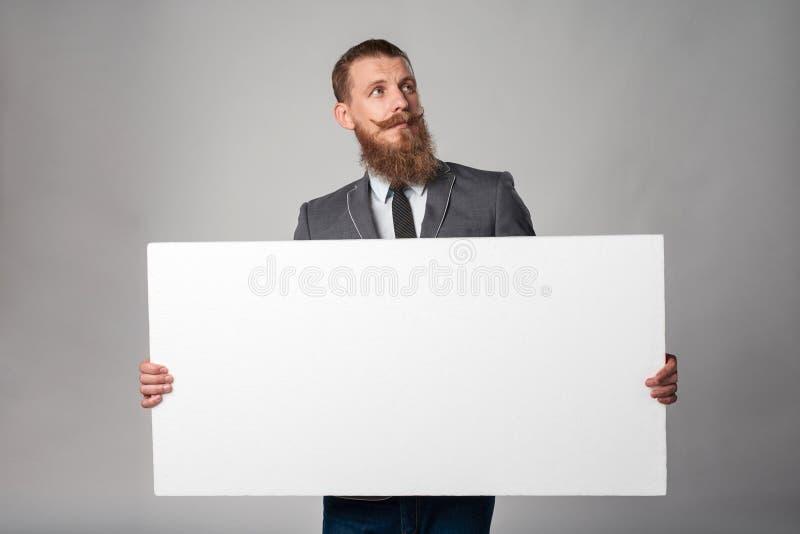 Hombre de negocios del inconformista imagen de archivo