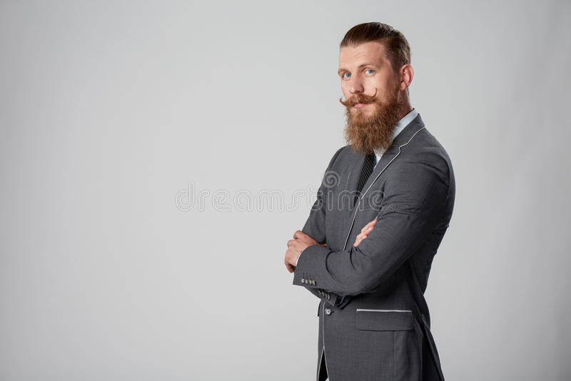 Hombre de negocios del inconformista foto de archivo