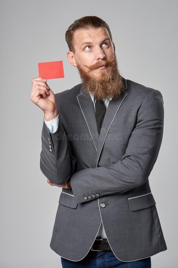 Hombre de negocios del inconformista fotografía de archivo libre de regalías