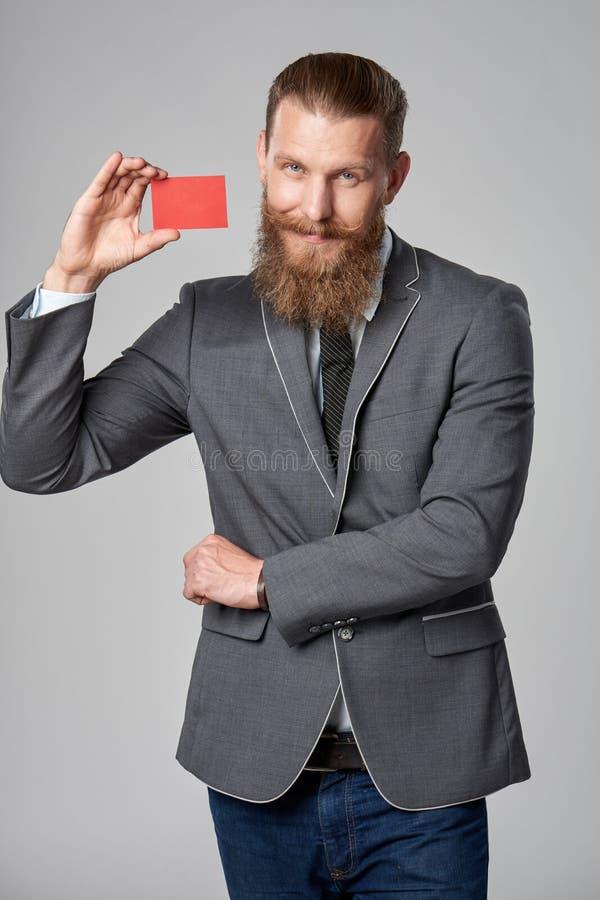 Hombre de negocios del inconformista foto de archivo libre de regalías