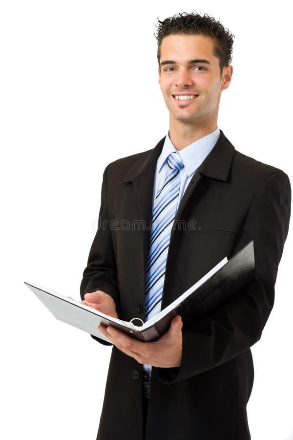 Hombre de negocios del interventor foto de archivo