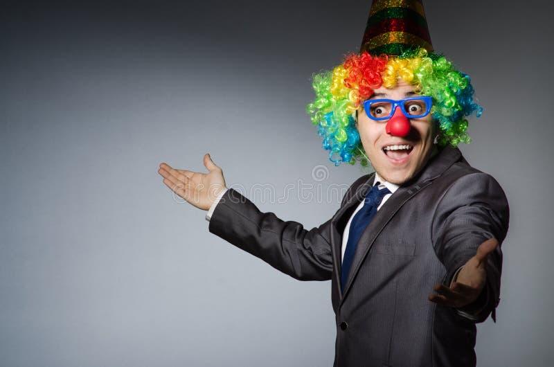 Download Hombre De Negocios Del Payaso Imagen de archivo - Imagen de holiday, circo: 41917457