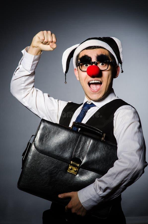 Download Hombre De Negocios Del Payaso Foto de archivo - Imagen de maquillaje, carnaval: 41918014