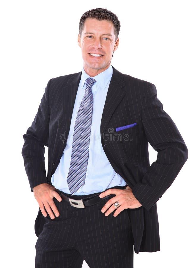 Hombre de negocios del retrato fotografía de archivo