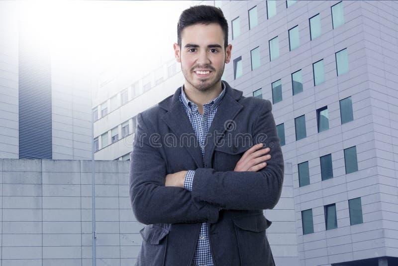 Hombre de negocios del retrato imagen de archivo libre de regalías