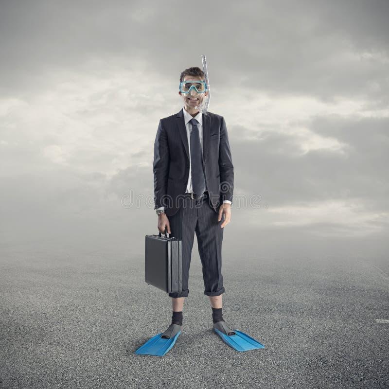 Hombre de negocios del salto imagen de archivo