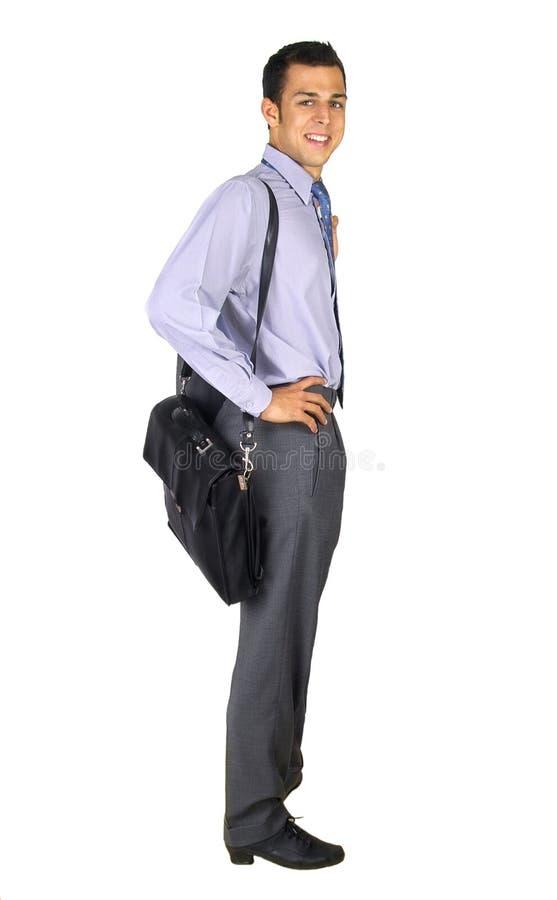 Hombre de negocios derecho fotografía de archivo