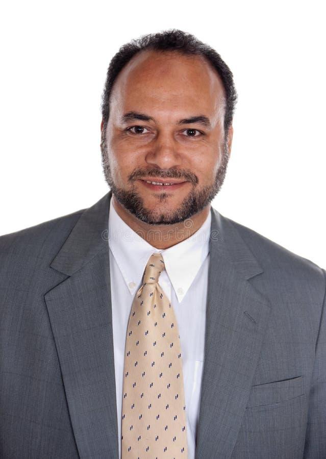 Hombre de negocios egipcio fotografía de archivo libre de regalías