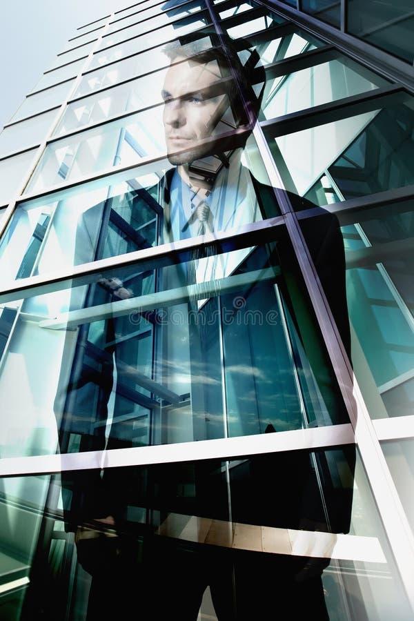 Hombre de negocios en Los Ángeles imagen de archivo
