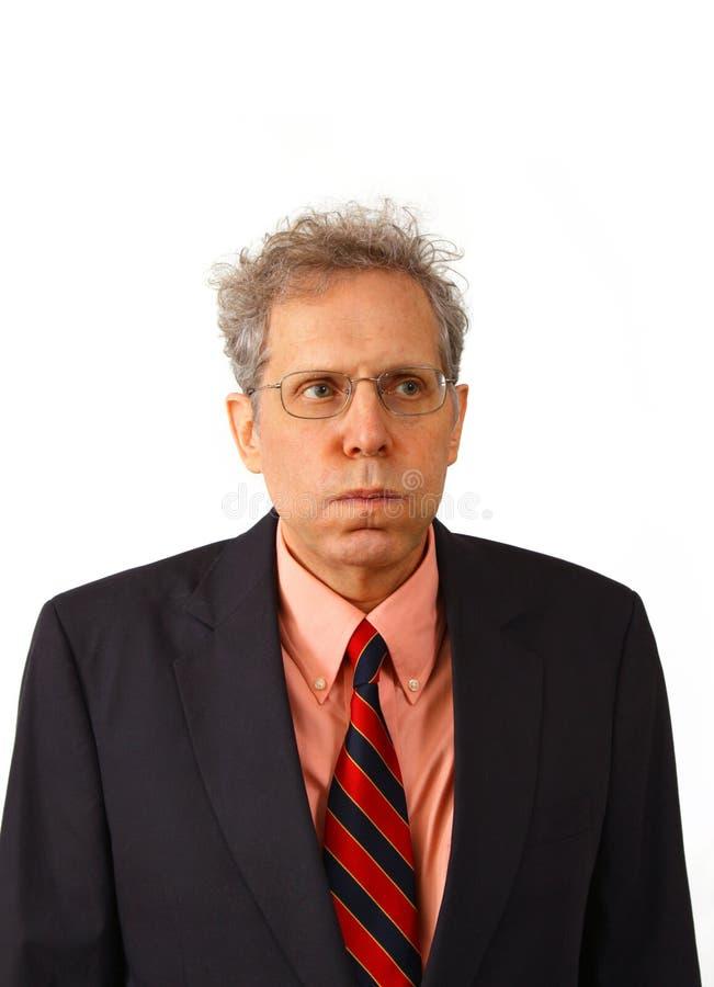 Hombre de negocios en un juego fotos de archivo libres de regalías