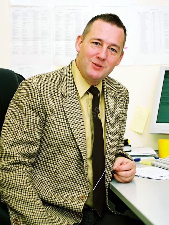 Hombre de negocios feliz fotografía de archivo libre de regalías